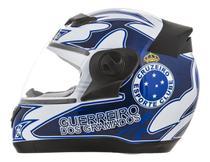 Capacete Moto Oficial Cruzeiro Evolution 3g Pro Tork -