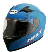 Capacete Moto Original Helt Street Polar Azul 58 -