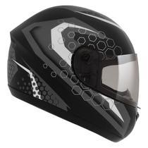 Capacete Moto Peels Fechado Spike Prisma Preto Fosco Grafite -