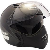 Capacete Moto Peels Mirage New Classic Preto Fosco Com Óculos Solar -