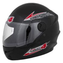 Capacete Moto Preto New Liberty Four 60 - Pro tork
