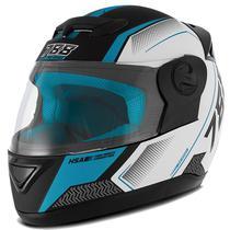 Capacete Moto Pro Tork Evolution G6 Pro Series Tech 788 Preto Fosco Branco Azul -