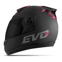 Capacete Moto Pro Tork Evolution G8 Evo Solid Viseira Fumê -
