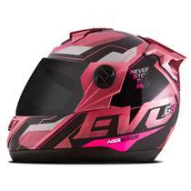 Capacete Moto Pro Tork Evolution G8 Evo + Viseira Fumê -