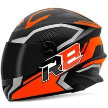 Capacete Moto Pro Tork Fechado R8 Air Fosco Viseira Fumê -
