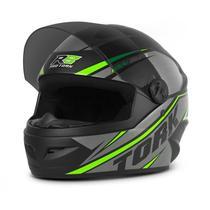 Capacete Moto Pro Tork R8 Narigueira + Viseira Fumê -