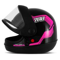 Capacete moto pro tork sport moto 788 -