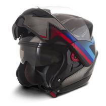 Capacete Moto Robocop Escamoteável Pro Tork Attack -
