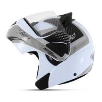 Capacete Moto Robocop Pro Tork V-Pro Jet 2 Carbon -