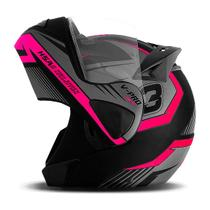 Capacete Moto Robocop Pro Tork V-Pro Jet 3 -
