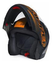 Capacete Moto Taurus Zarref V5 Neon Articulado -