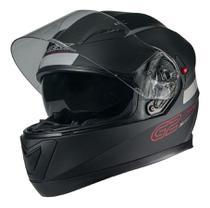 Capacete Moto Texx G2 Solido Com Óculos Interno Vermelho -