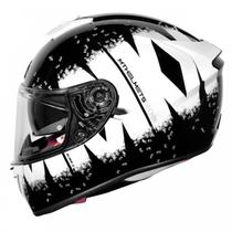 Capacete MT Blade 2 SV Oberon Preto/Branco - Mt Helmets