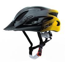 Capacete Mtb Raptor Tsw Bicicleta Bike Sinalizador Traseiro G Regulagem 57/61 -