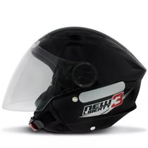 Capacete New Liberty Three Preto - Protork