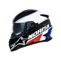 Capacete norisk ff302 grand prix france c/oculos -