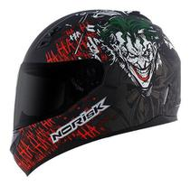 Capacete Norisk Ff391 The Joker Preto/verde/vermelho -