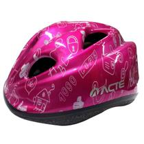 Capacete para Bike Kids Regulável Rosa - ACTE A50-RS - Acte sports