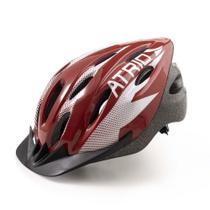 Capacete para Ciclismo MTB 2.0 Viseira Removível e 19 Entradas de Ventilação Atrio Tamanho G - BI163 -