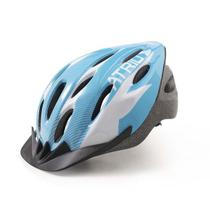 Capacete para Ciclismo MTB 2.0 Viseira Removível e 19 Entradas de Ventilação Azul/Branco Atrio Tam. G - BI161 -