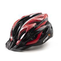 Capacete para Ciclismo MTB Inmold 2.0 Viseira Removível 19 Entradas de Ventilação Vermelho Atrio Tam. G - BI177 -