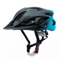 Capacete Para Ciclismo Raptor 1 Tamanho G 57/61cm Sinalizador Traseiro e Viseira Tsw -