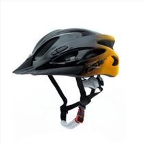 Capacete Para Ciclismo Raptor 1 Tamanho M 54/58cm Sinalizador Traseiro e Viseira Tsw -
