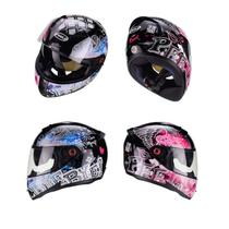 Capacete Peels Fechado Feminino Icon Revel Moto com óculos solar fumê -