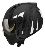Capacete Peels Mirage Techride Masculino Feminino Esportivo Moto com Oculos interno Solar -