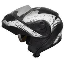 Capacete Peels Urban Wolf Escamoteável estilo robocop Com Oculos solar interno -