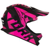 Capacete Pro Tork Cross Infantil Jett Factory Tamanho 54 Pink -