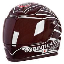 Capacete Pro Tork Mini Decorativo Corinthians - CAP-246 -