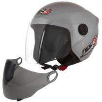 Capacete Pro Tork New Liberty Three 3 Moto Motoqueiro Motoboy + Viseira Fumê -