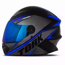 Capacete pro tork r8 azul vis iridium tam 60 -