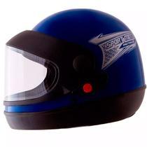 Capacete pro tork sport moto azul tam 60 -