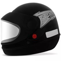 Capacete Pro Tork Sport Moto Preto Fosco -