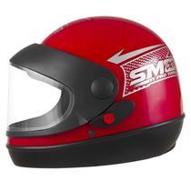 Capacete Pro Tork Sport Moto Vermelho -