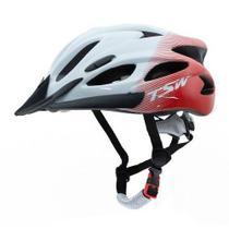 Capacete Raptor Tsw Led Traseiro Ciclismo Mtb G Regulagem 57/61cm -