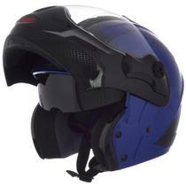 Capacete Robocop Mixs Street Rider Óculos Escamoteável Moto -
