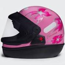 Capacete san marino feminino rosa 60 -