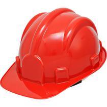 Capacete Segurança Com Carneira Vermelho Pro Safety Inmetro - Delta Plus