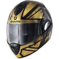 Capacete Shark Evoline S3 Tixer Matt KUQ Escamoteavel Tam 62 -