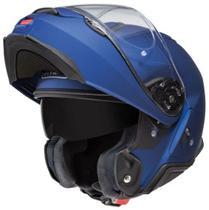 Capacete Shoei Escamoteavel Robocop Neotec II Azul Fosco -
