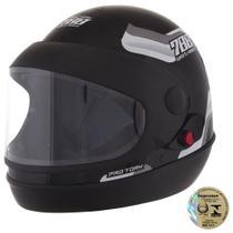 Capacete Sport Moto 788 Preto E Branco Pro Tork -