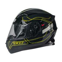 Capacete texx g2 panther verde -