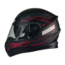 Capacete texx g2 panther vermelho -