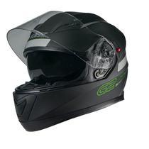 Capacete Texx G2 Solido Preto Fosco/Verde -