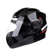 Capacete Texx Gladiator Escamoteável Articulado Motociclismo -