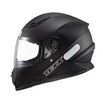 Capacete Texx Hawk Preto Fosco Moto Fechado Motociclista -