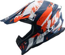 Capacete Trilha Motocross Helt Mx Traction Cross Off Road 60L -
